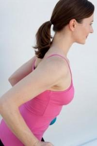 shoulder pilates mat class