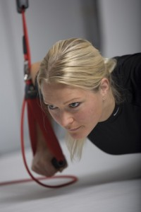 Redcord complements Pilates training.