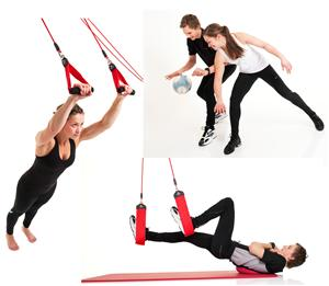 Redcord helps you develop functional strength.