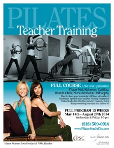 Pilates Teacher Training at Pilates Studio City