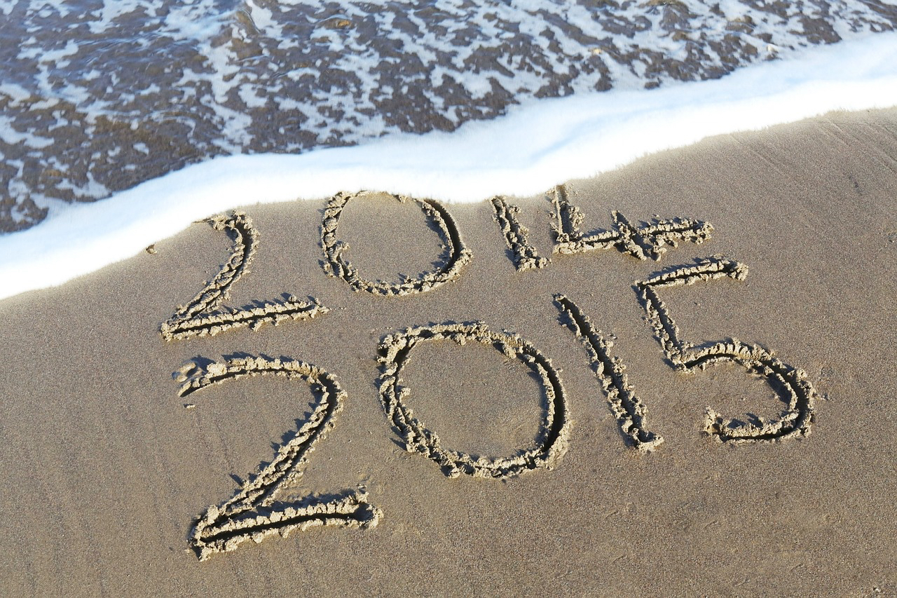 new year sand 2015