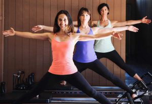 Pilates Studio City group reformer classes